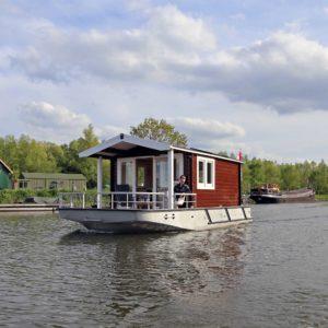 Blokhutboot: Bijzonder overnachten