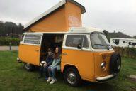 Weekendje weg met een Volkswagen T2 Camper