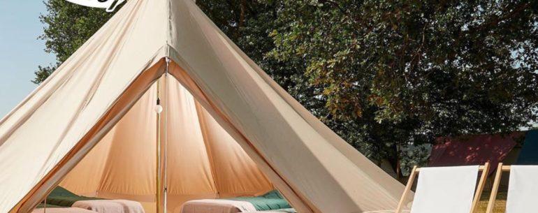 Pop-up camping Kallumaan